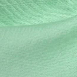 Ткань лен стрейчевый мята (метр )