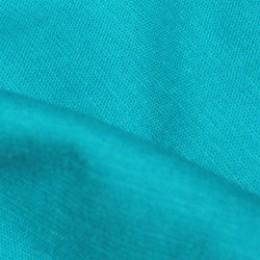 Ткань лен стрейчевый голубая бирюза (метр )
