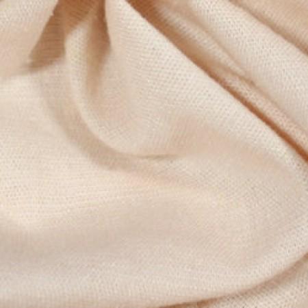 Ткань лен стрейчевый персиковый (метр )