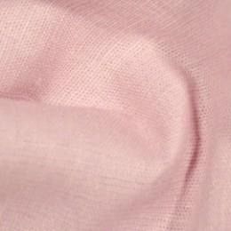 Ткань лен стрейчевый розовый (метр )