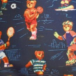 Ткань палаточная Оксфорд 600 д принт медведи (метр )