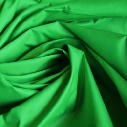 Ткань плащевая лаке зеленая  (метр )