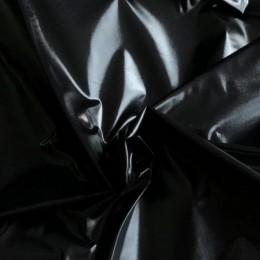 Ткань плащевка монклер черная (метр )