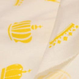 Ткань сатин хлопок принт короны 66113 (метр )