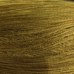 Шнур люрекс 1мм золотой №1 (1000 метров)