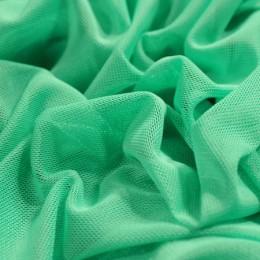 Ткань сетка стрейч бирюзовая (метр )