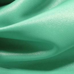 Ткань исскуственная стрейч кожа мятная (метр )