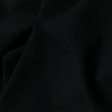 Ткань супер-софт черный  (метр )