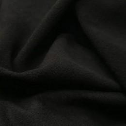 Ткань микрофлис черный (метр )