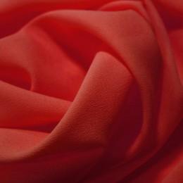Ткань креп-шифон красный (метр )