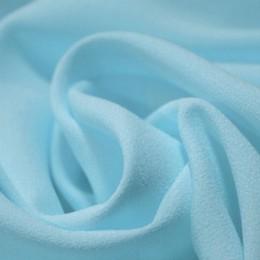 Ткань креп-шифон голубой (метр )