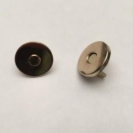 Кнопка магнит 14мм тонкая Турция золото (200 штук)