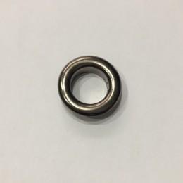 Люверс круглый 10мм №24 нержавейка темный никель (1000 штук)