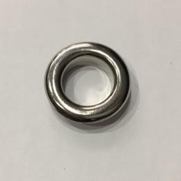 Люверс круглый 11мм №26 нержавейка никель (1000 штук)