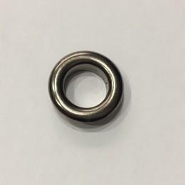 Люверс круглый 11мм №26 нержавейка темный никель (1000 штук)