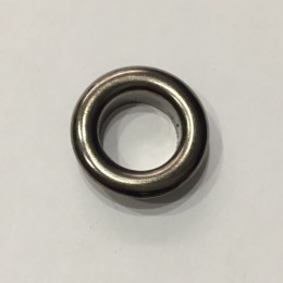Люверс круглый 14мм №28 нержавейка темный никель (1000 штук)