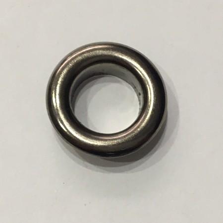 Люверс круглый 15мм №30 нержавейка темный никель (1000 штук)