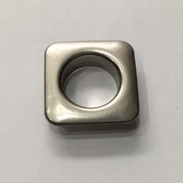 Люверс квадрат 11мм №26 нержавейка никель (1000 штук)