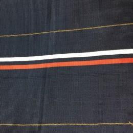 Довяз синий полоса красная, белая (манжет 14х7см) 180см (Килограмм)