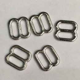 Перетяжка металл литая 10мм никель (1000 штук)