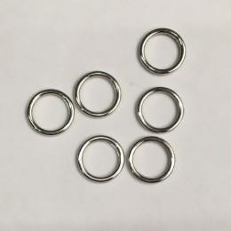 Кольцо металл литое 10мм никель (1000 штук)
