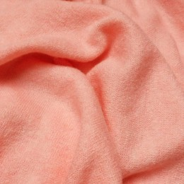 Ткань трикотаж ангора арктика персик (метр )