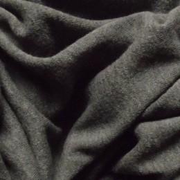 Ткань трикотаж ангора арктика графит (метр )
