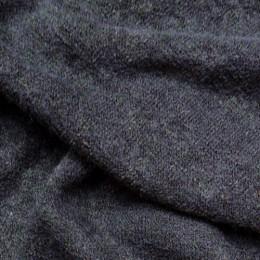 Ткань трикотаж ангора арктика темно серый (метр )
