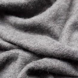 Ткань трикотаж ангора арктика светло серый (метр )