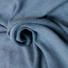 Ткань трикотаж ангора арктика серо голубой (метр )
