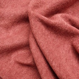 Ткань трикотаж ангора арктика кирпич (метр )