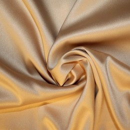 Ткань атлас королевский стрейч золото (метр )
