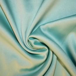 Ткань атлас королевский стрейч бледная мята (метр )