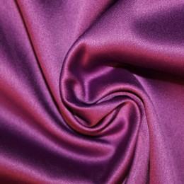 Ткань атлас королевский стрейч фиолет (метр )
