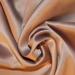 Ткань атлас королевский стрейч пудра (метр )
