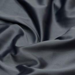 Ткань атлас королевский стрейч темно-серый (метр )