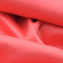 Ткань атлас королевский стрейч корал (метр )