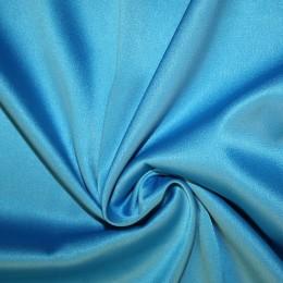 Ткань атлас королевский стрейч голубая бирюза (метр )
