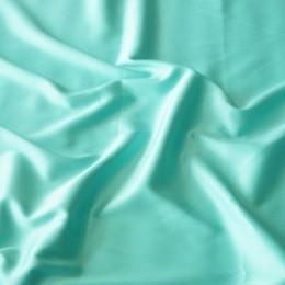 Ткань атлас королевский стрейч мята (метр )