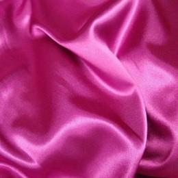 Ткань атлас королевский стрейч фуксия (метр )
