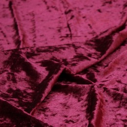 Ткань бархат мрамор марсала (метр )