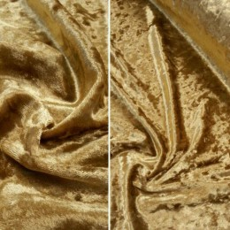 Ткань бархат мрамор золото (метр )