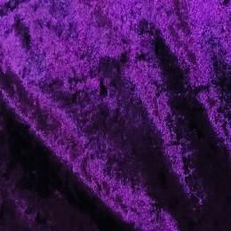Ткань бархат мрамор фиолет (метр )