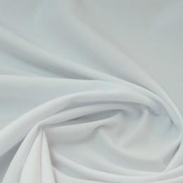 Ткань габардин белый с голубизной (метр )