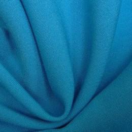 Ткань габардин голубая бирюза (метр )
