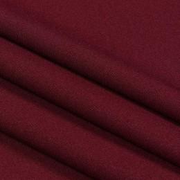 Ткань габардин вишня (метр )
