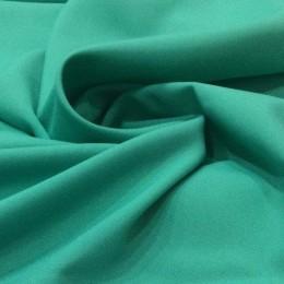Ткань габардин зеленая бирюза (метр )