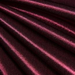 Ткань креп-сатин марсала (метр )
