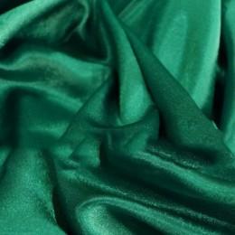 Ткань креп-сатин изумруд (метр )