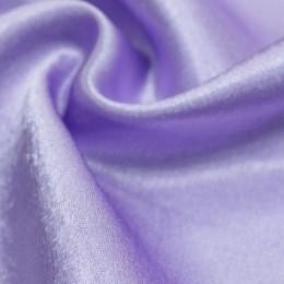 Ткань креп-сатин бледно сиреневый (метр )